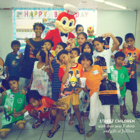 Kalye Ferdinand party at Jollibee